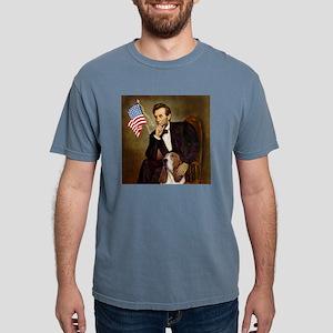 TILE-Lincoln-Basset2 Mens Comfort Colors Shirt