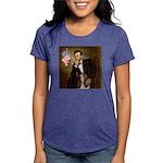 TILE-Lincoln-Basset2 Womens Tri-blend T-Shirt