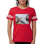 card-Creation-Basset1 Womens Football Shirt