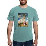 card-umbrella-basset1 Mens Comfort Colors Shir