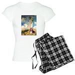 card-umbrella-basset1 Women's Light Pajamas