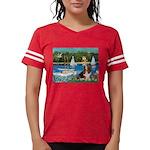 card-Sailbts1-Basset2 Womens Football Shirt