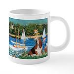 card-Sailbts1-Basset2 20 oz Ceramic Mega Mug