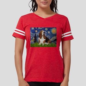 5.5x7.5-Starry-Basset2 Womens Football Shirt