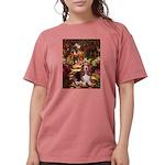 card-Path-Basset1 Womens Comfort Colors Shirt