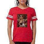 card-Path-Basset1 Womens Football Shirt