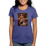 card-Path-Basset1 Womens Tri-blend T-Shirt