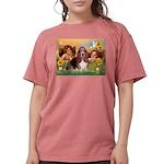 card-Cherubs-Basset1 Womens Comfort Colors Shi
