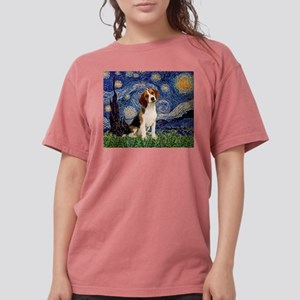 MP-Starry-Beagle1-nc Womens Comfort Colors Shi