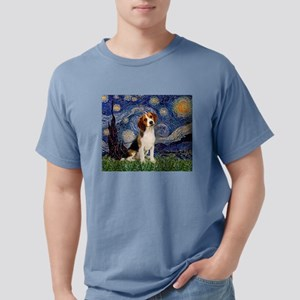 MP-Starry-Beagle1-nc Mens Comfort Colors Shirt