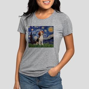 MP-Starry-Beagle1-nc Womens Tri-blend T-Shirt