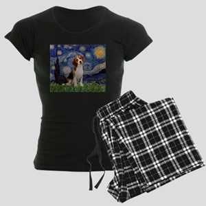 MP-Starry-Beagle1-nc Women's Dark Pajamas