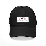 I Heart My Great Grandpa Black Cap