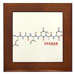 Zainab molecularshirts.com Framed Tile