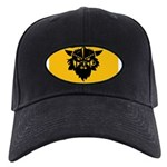 Viking Gold Black Cap with Patch