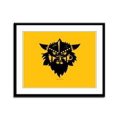 Viking Gold Framed Panel Print