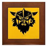 Viking Gold Framed Tile