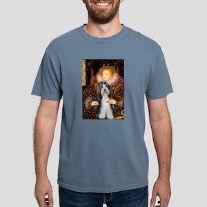 Beardie 6 - Queen Mens Comfort Colors Shirt