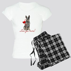 Love You More! Cattle Dog Pajamas