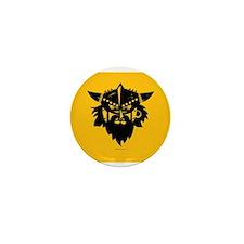 Viking Gold Mini Button