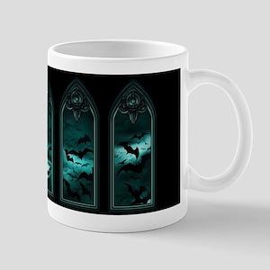 Gothic Bat Windows 5 Mug