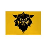 Viking Gold Rectangle Magnet