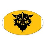 Viking Gold Sticker (Oval)