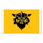 Viking Gold Sticker (Rectangle)