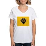 Viking Gold Women's V-Neck T-Shirt