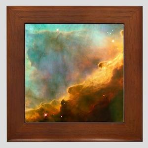 Omega/Swan Nebula Framed Tile