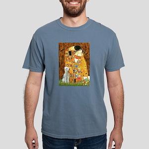 Kiss / Bedlington T Mens Comfort Colors Shirt
