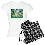 TILE-BRIDGE-Bedlington1 Women's Light Pajamas
