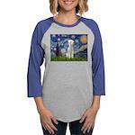 MP-STARRY-Bedlington1 Womens Baseball Tee