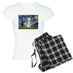 MP-STARRY-Bedlington1 Women's Light Pajamas