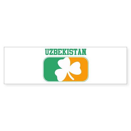 UZBEKISTAN irish Bumper Sticker