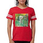 TILE-IRISES-Bedlington1 Womens Football Shirt