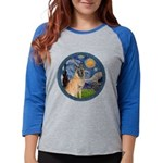 MP-Starry-BelgianMalanois5 Womens Baseball Tee