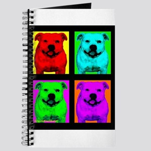 Pitt Bull Pup Art Journal
