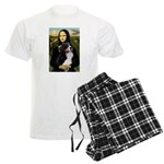 5.5xd7.5-Mona2-Bernese1 Men's Light Pajamas