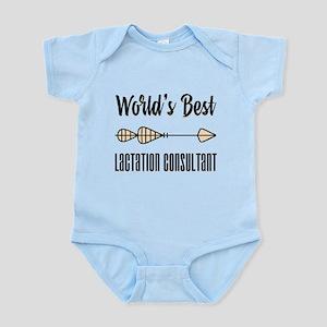 World's Best Lactation Consultant Infant Bodysuit