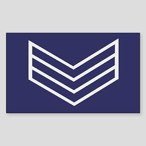 Sergeant Chevrons<BR> Sticker
