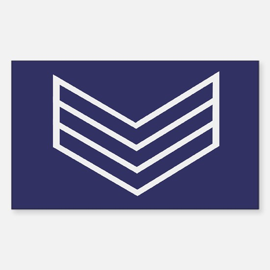 Sergeant Chevrons<BR> Decal