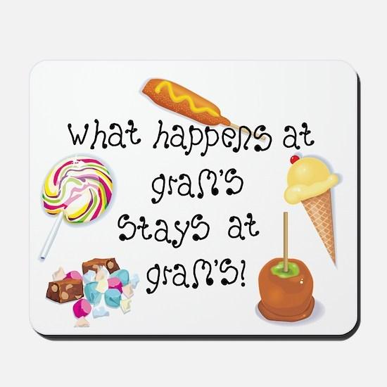 What Happens at Gram's... Mousepad