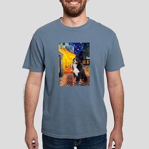 5.5x7.5-Cafe-Bernese Mens Comfort Colors Shirt