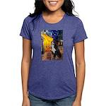 5.5x7.5-Cafe-Bernese Womens Tri-blend T-Shirt