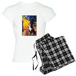 5.5x7.5-Cafe-Bernese Women's Light Pajamas