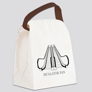 Escalator Canvas Lunch Bag