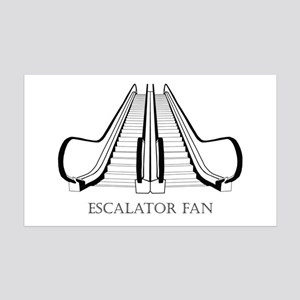 Escalator 35x21 Wall Decal