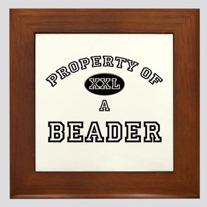 Property of a Beader Framed Tile
