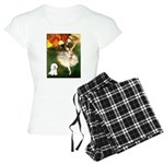 8x10-Dancer1-Bichon1 Women's Light Pajamas